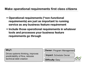 Damon Edwards - operational requirements as first-class citizens
