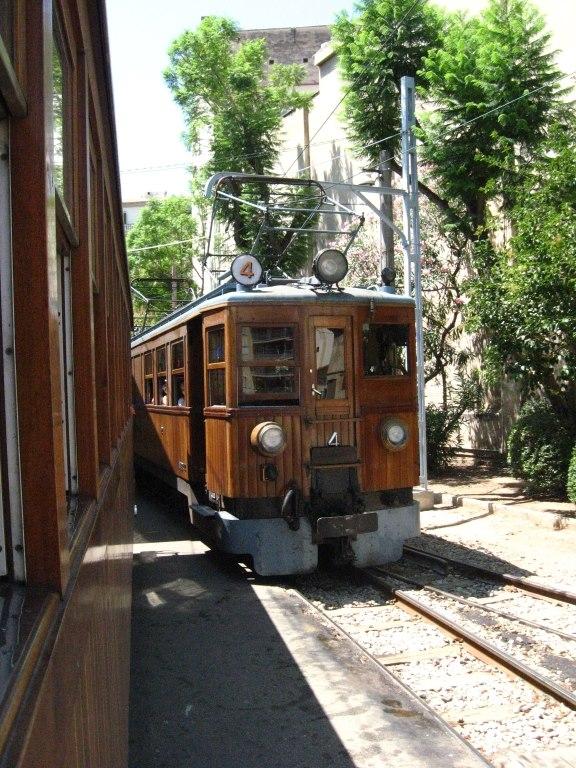 Train in Soller, Majorca