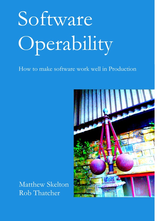 Cover of Software Operability book