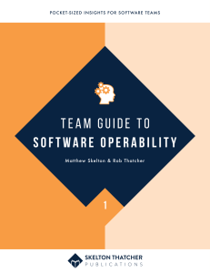 Cover - software operability leanpub thumbnail